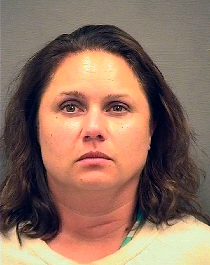 This image provided by the Alexandria Sheriff's Department shows a mug shot of Natalie Mayflower Edwards,a Treasu