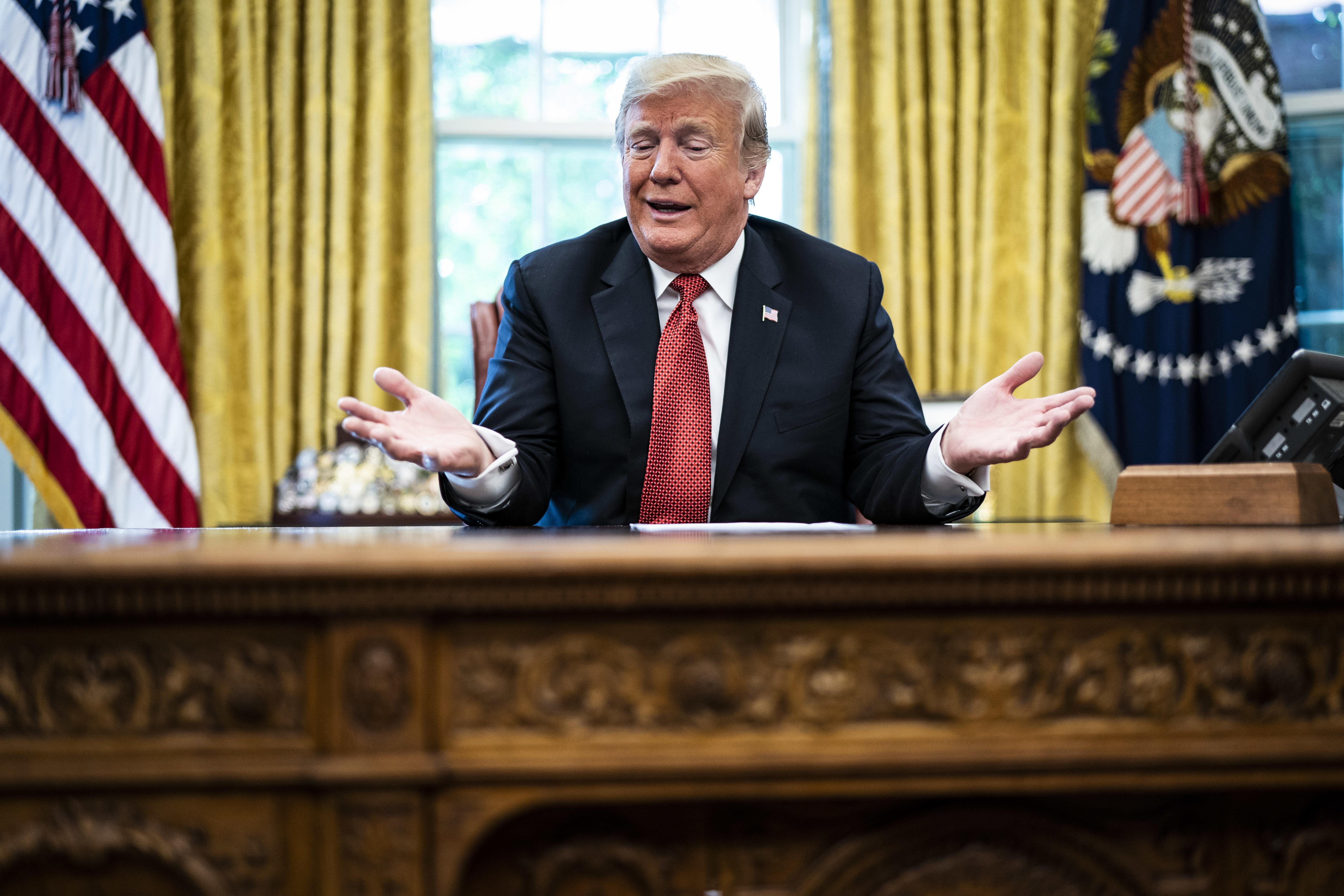 Trumps Millionenspiel: Die Geldspur zwischen dem US-Präsidenten und den