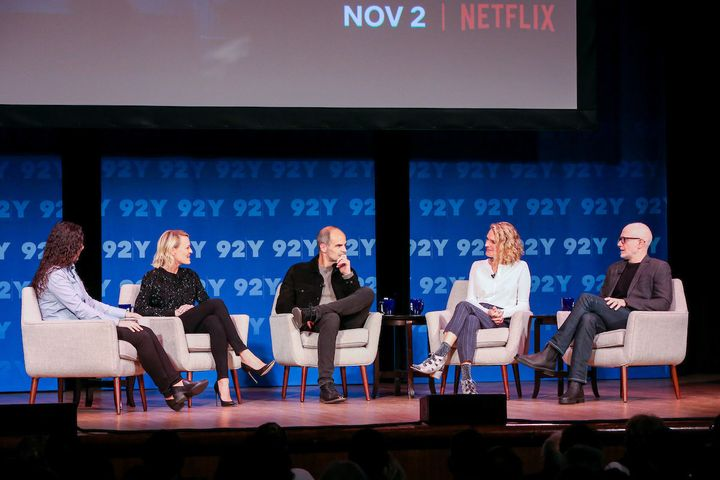 "Robin Wright, Michael Kelly, Melissa Gibson and Frank Pugliese appear at New York's 92Y to chat ""House of Cards."""