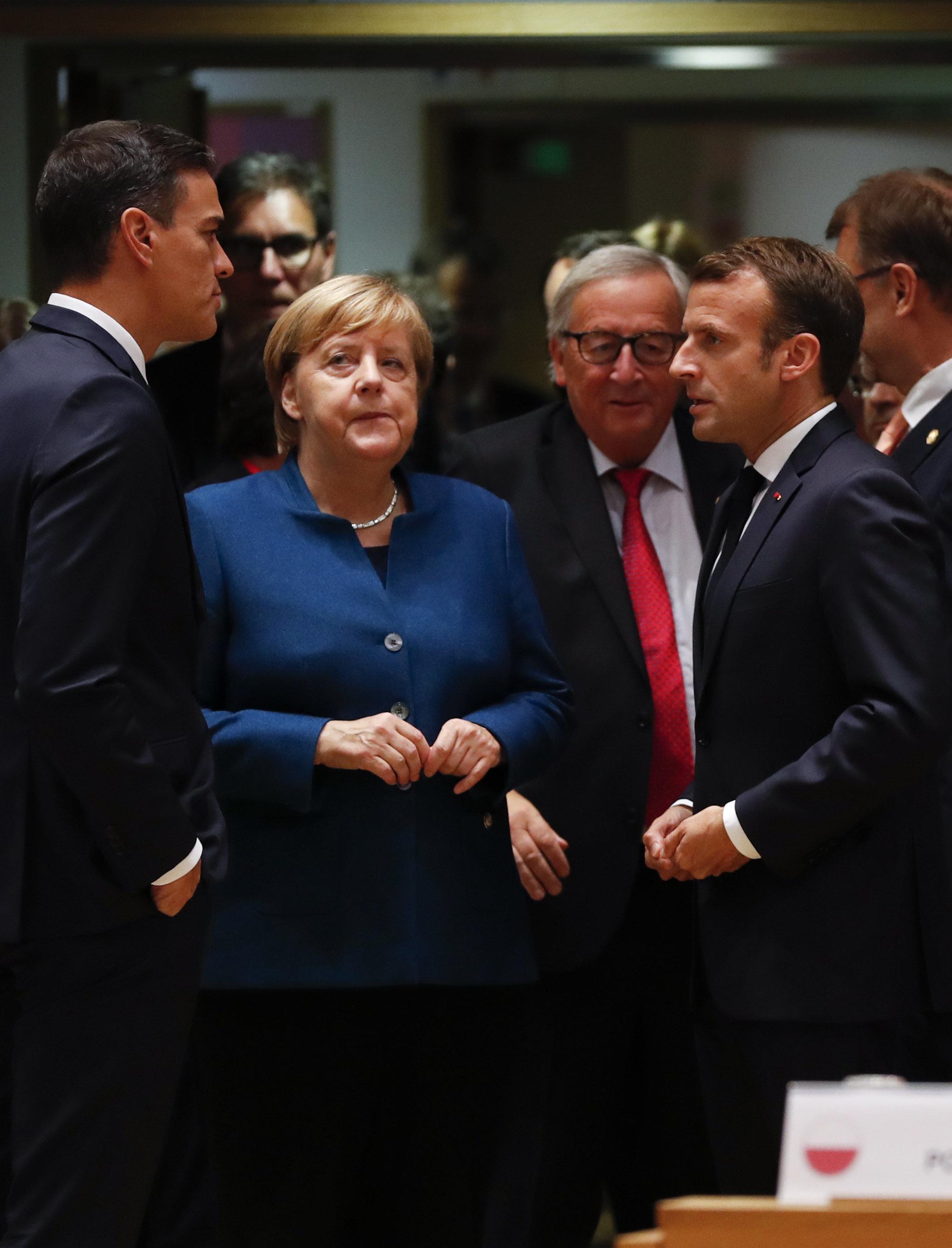 EU-Gipfel: Theresa Mays Brexit-Rede verwirrt Angela