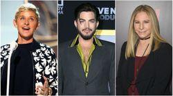 Ellen DeGeneres, Adam Lambert And More Go Purple For Spirit