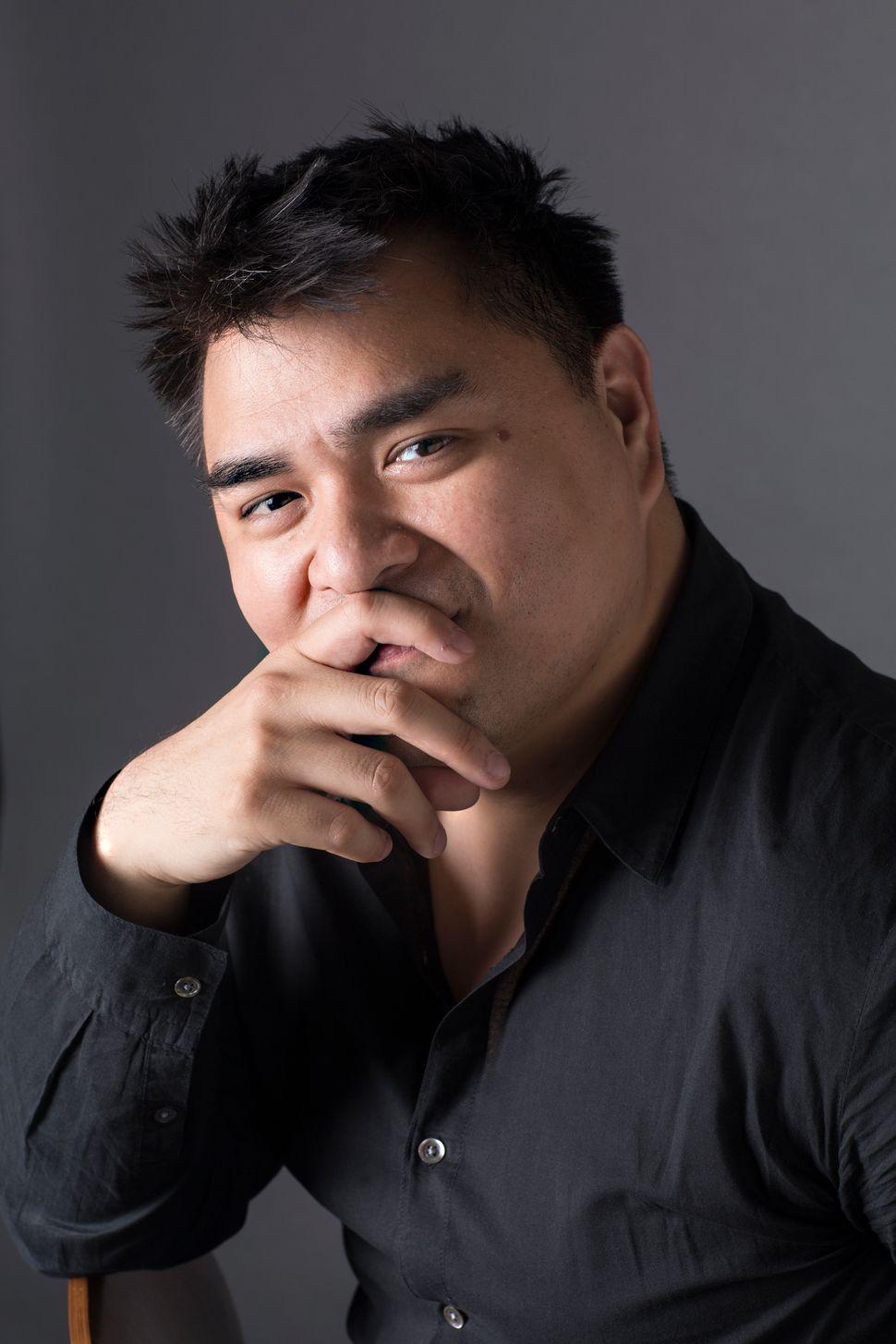 Jose Antonio Vargas, author of the memoir <i>Dear America, Notes of an Undocumented Citizen</i>.