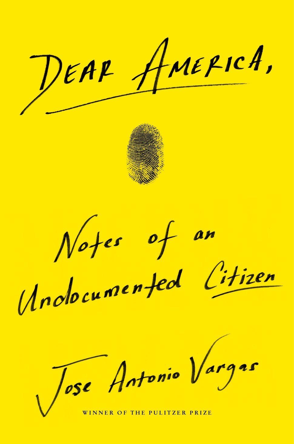 The memoir's bright yellow cover.