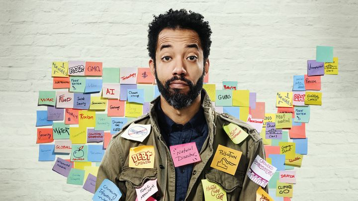 "Wyatt Cenac is the host of HBO's ""Problem Areas,"" set to debut its second season in 2019."