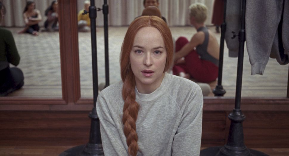 "Dakota Johnson as Susie in ""Suspiria."""
