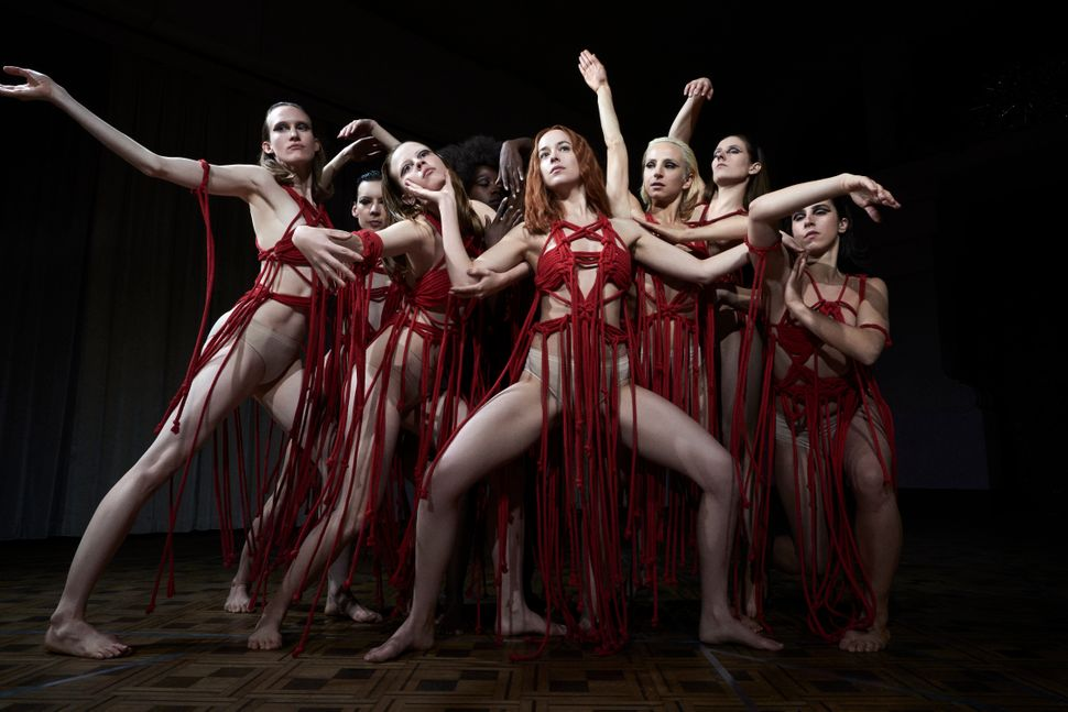 "Dakota Johnson dances the role of the protagonist in ""Suspiria."""