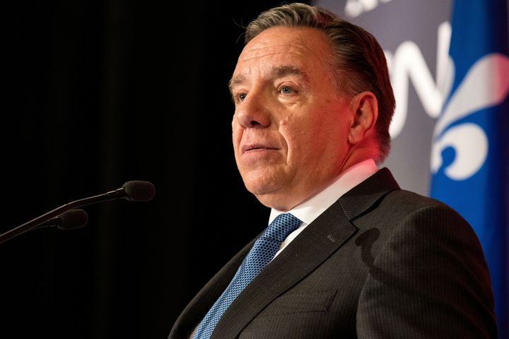 François Legault of the right-wing Coalition Avenir Québec is the new premier of Quebec in Canada.