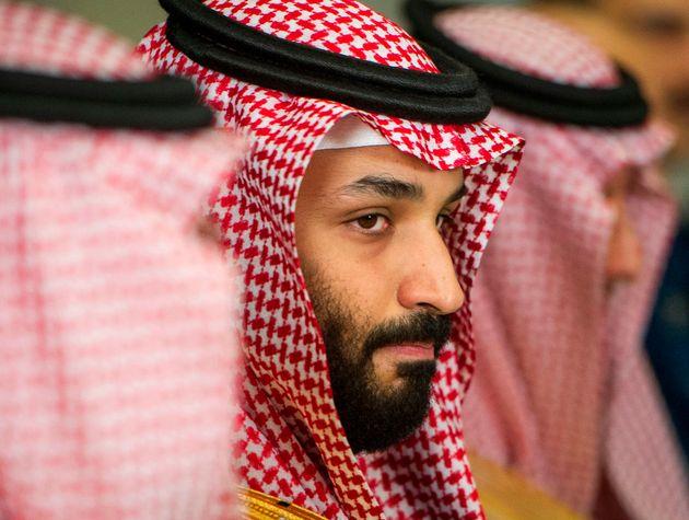 사진은 미국 워싱턴DC에서 제임스 매티스 국방장관과 만나 회동할 당시무함마드 빈 살만(MBS) 사우디아라비아 왕세자의 모습. 2018년