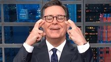 Stephen Colbert Has 1 Wish For Trump After Reports Of Fighting Among White House Aides
