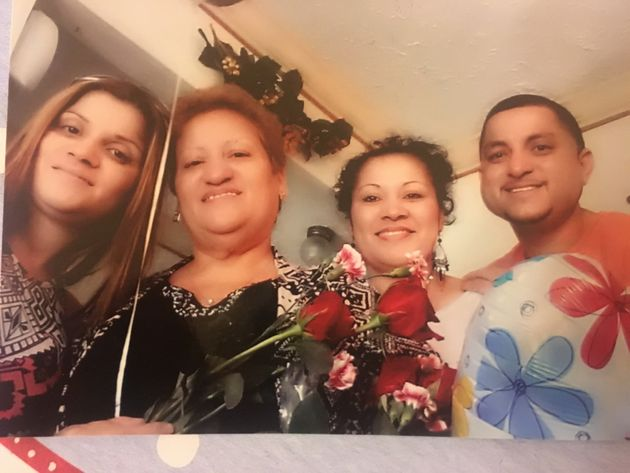 Luis Barrios poses with his mother, Patricia, and sister during happier times. Last year, the Barrios'...