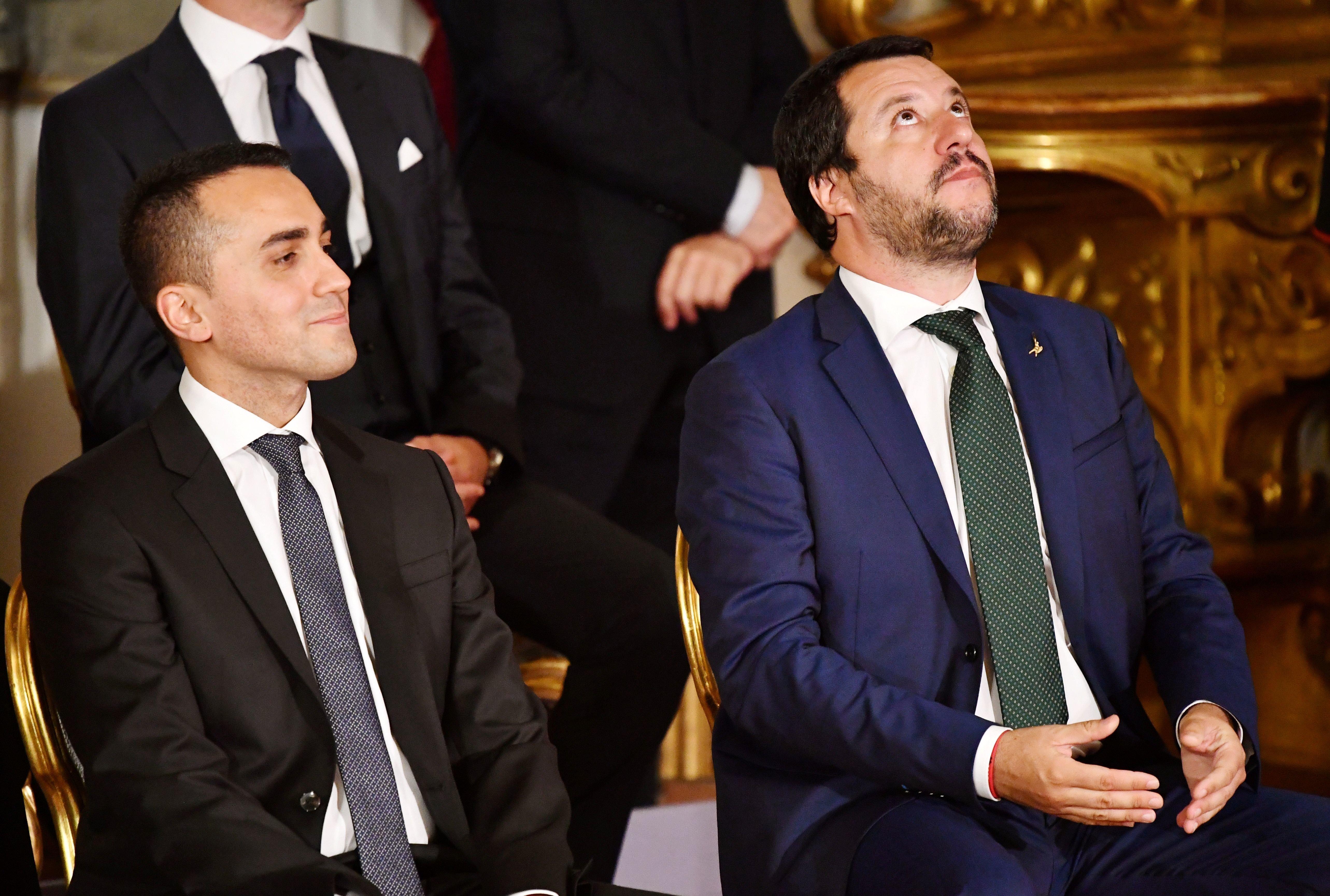Ενδοκυβερνητική κόντρα στην Ιταλία με βαριές κατηγορίες από το Κίνημα Πέντε Αστέρων κατά της