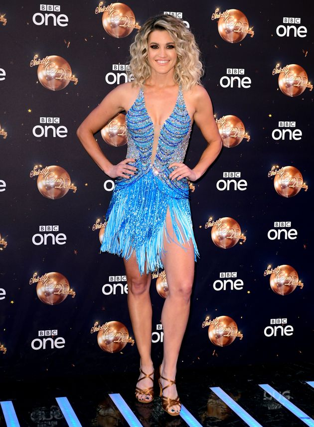Ashley Roberts is one of the more experienced 'Strictly' dancers this