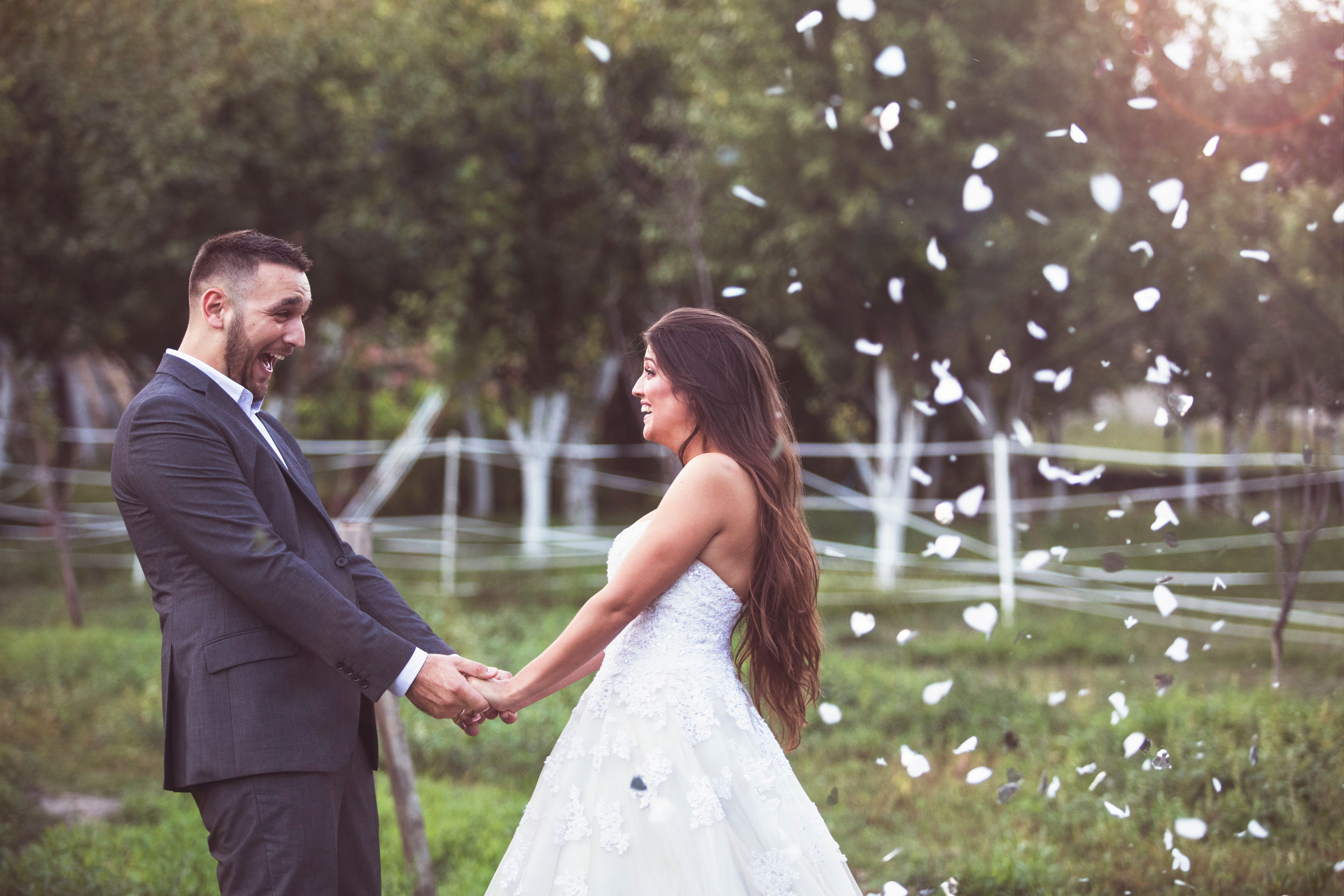 Braut erwartet Traum-Hochzeit: Den schönsten Tag erlebt eine
