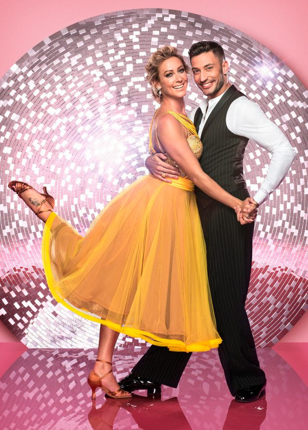 Giovanni with 'Strictly' partner Faye