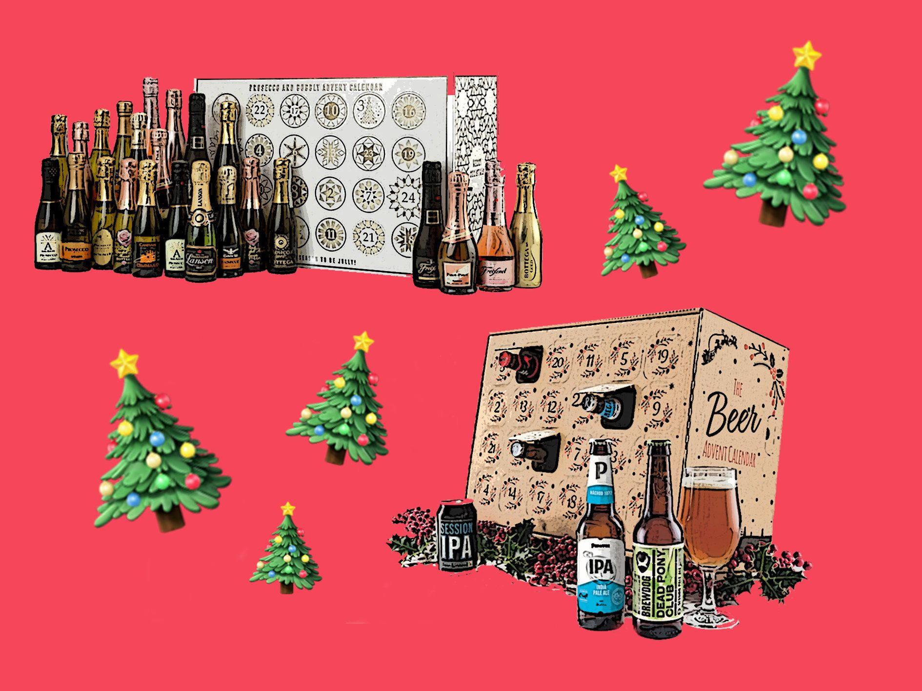 Window Shopping: 6 Boozy Advent Calendars – Including Gin, Wine And