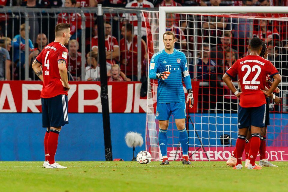 Konstatierte Bayern-Stars im Spiel gegen Borussia Mönchengladbach, das die