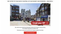 Anonymous Pro-Brexit Ad Campaign Urges 11 Million Facebook Users To 'Chuck Chequers'