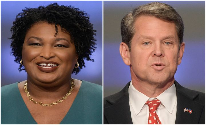Democrat Stacey Abrams could become Georgia's first African-American governor. But her Republican opponent, Brian Kemp, has b