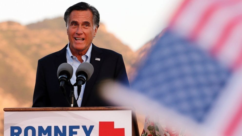 Mitt Romney appears to recast his role in the 'never-Trump' movement amid his Senate bid (ABC News)