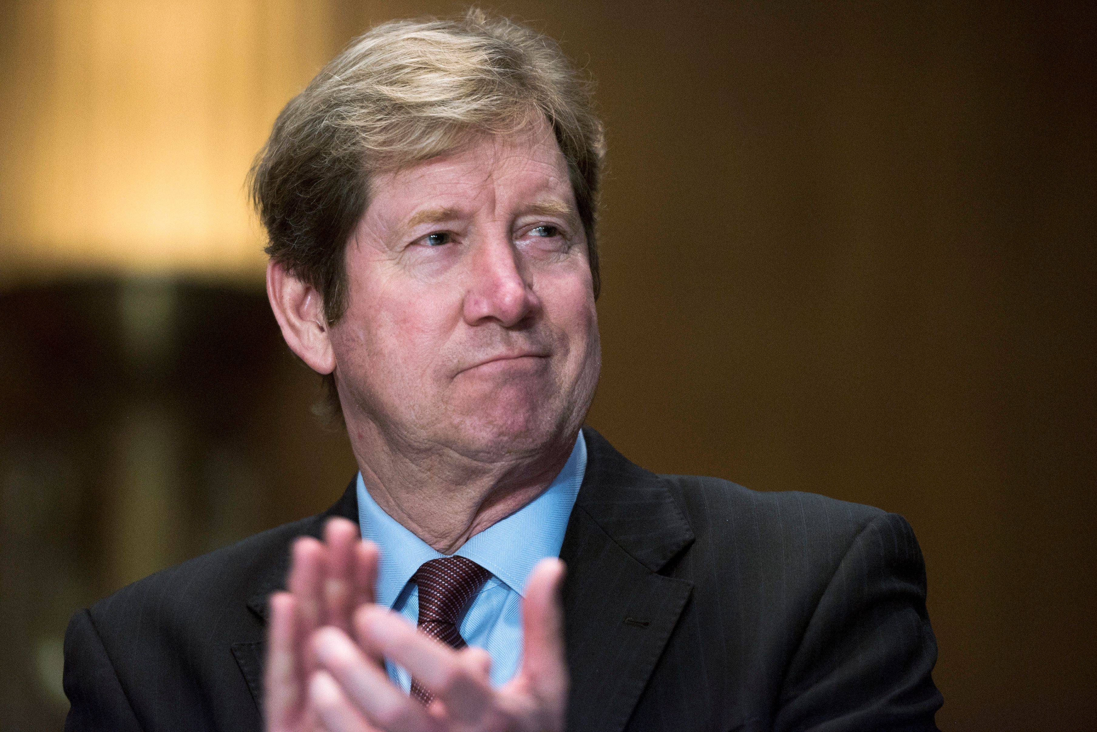 Rep. Jason Lewis (R-Minn.) attends the annual Minnesota Congressional Delegation Hotdish Competition on March 8, 2017.