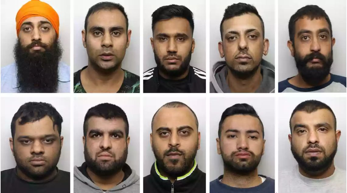 UK's 'Biggest' Rape Gang Jailed for 221 Years for Abusing 15 Girls