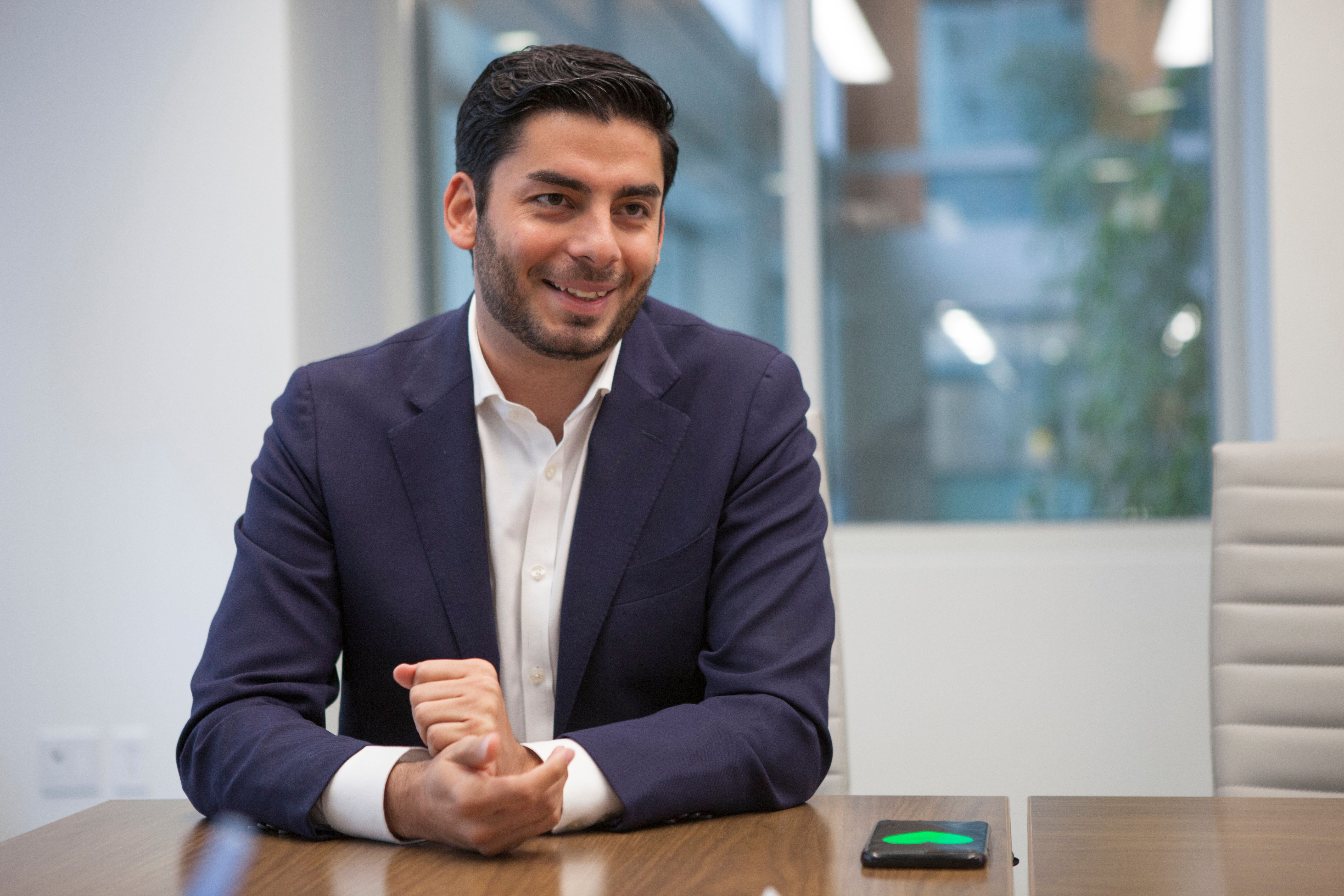 Ammar Campa-Najjar is hoping to unseatRep. Duncan Hunter in California's staunchly conservative 50th Congressiona