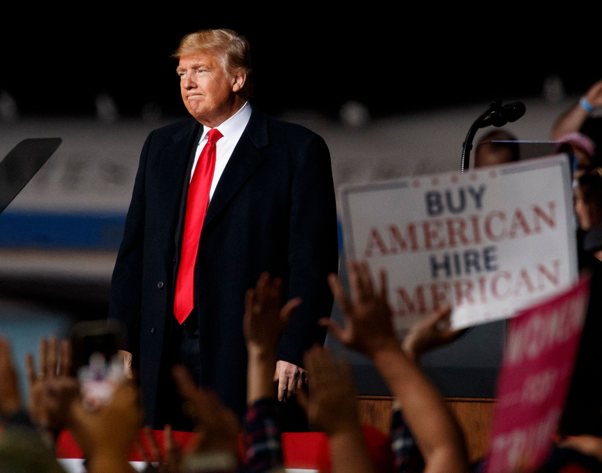 Even Trump's Base Seems To Prefer His Less 'Trumpy'