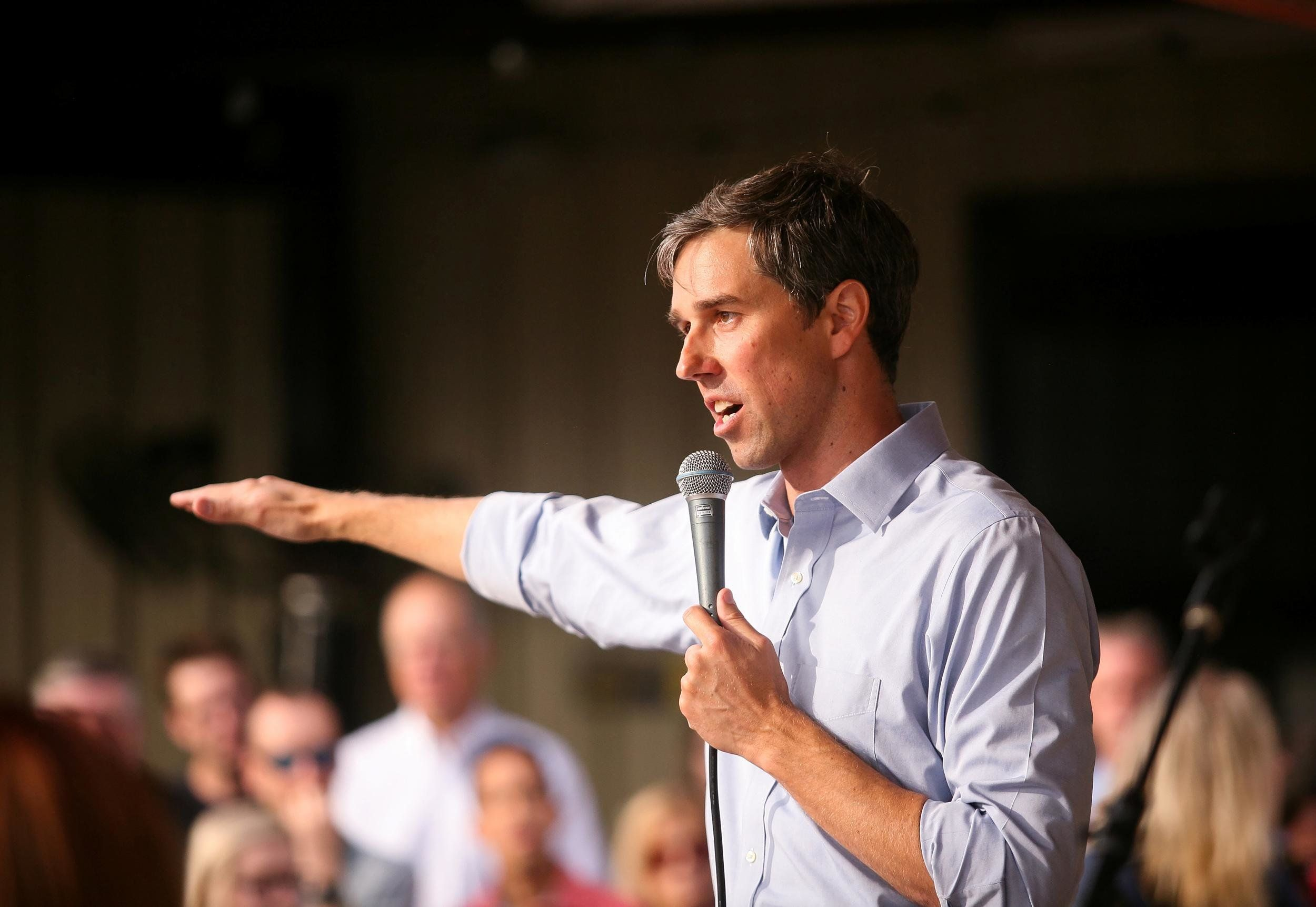 Midterm elections: Beto O'Rourke says he would definitely vote to impeach Donald Trump at Texas town hall