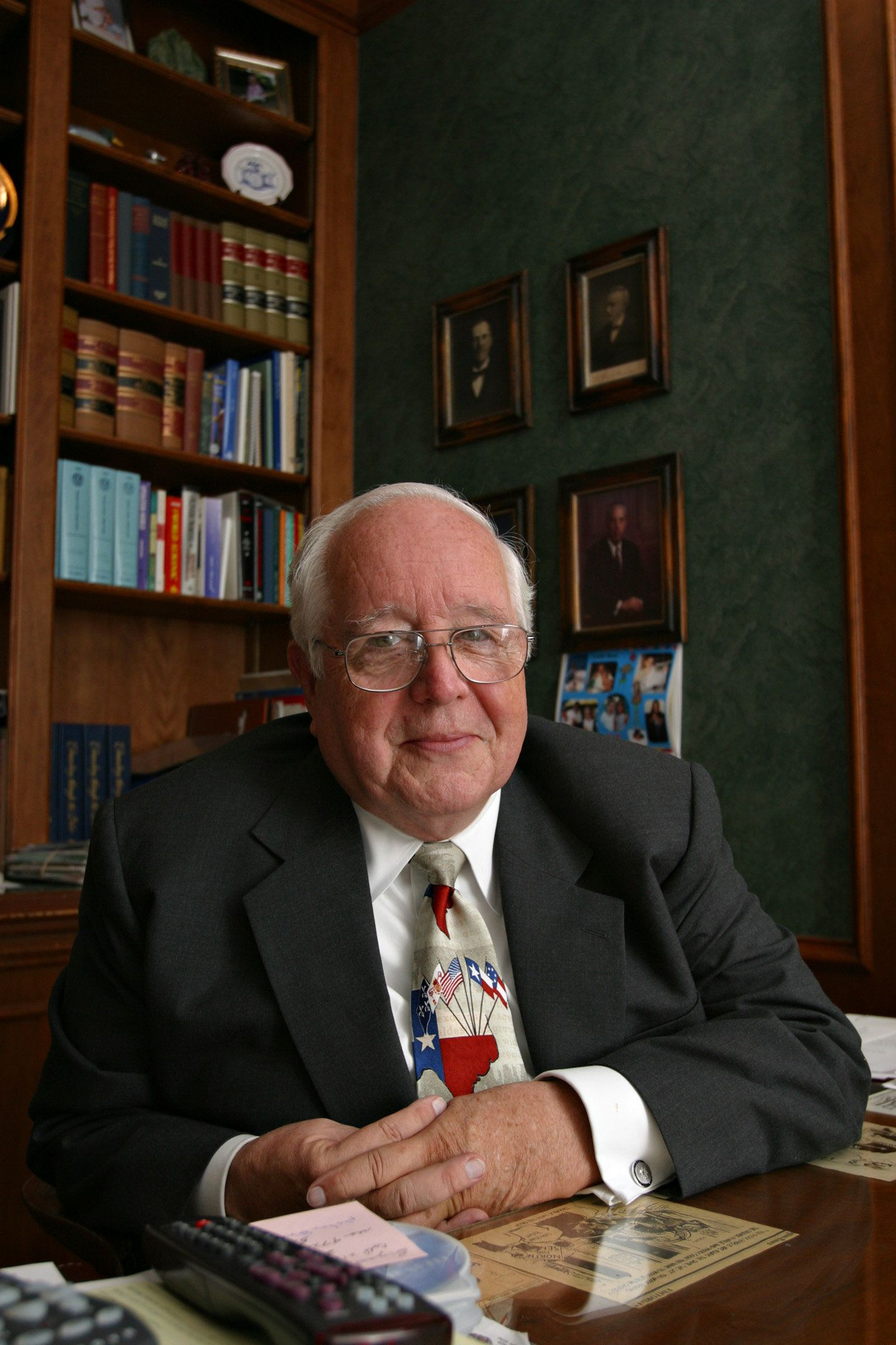 Paul Pressler is a former justice on Texas' 14th Court of Appeals and a prominent figure in the Southern Baptist Convent