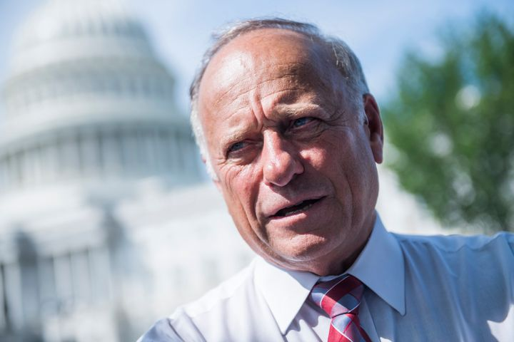 "Republican Rep. Steve King of Iowa gave a remarkably racist interview to an Austrian ""alt-right"" site in Aug"