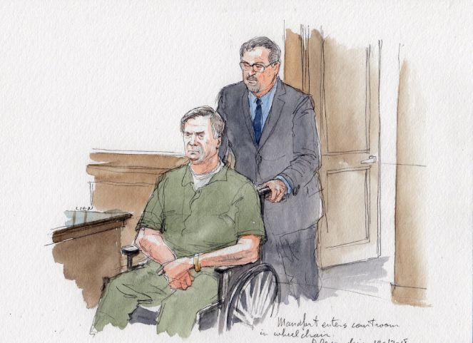 Paul Manafort Appears In Wheelchair At Court Hearing For Sentencing