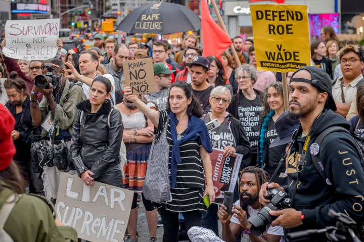 The right-wing conspiracy theorists, including the president, want to dismiss protesters as funded by billionaire George Soro