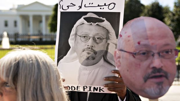 """Saudi Arabia on Friday night admitted that the missing journalist JamalKhashoggiwas killed in its Istanbul consulate, according to state media. """"The discussions between JamalKhashoggiand those he met at the kingdom's consulate in Istanbul... devolved into a fistfight, leading to his death,"""" the Saudi Press Agency said, citing the public prosecutor. So far, 18 Saudi nationals have been arrested and deputy intelligence chief Ahmad al-Assiri and Saud al-Qahtani, a senior aide to Mohammed bin Salman, the crown prince,have been dismissed, state TV reported. The Saudi government has been under days of intense pressure to explain what happened to the dissident journalist after he entered the consulate more than two weeks ago. Turkish government sources alleged the Washington Post columnist was tortured, murdered and his body dismembered by a Saudi hit squad flown in from Riyadh. However, reports circulated for days that the kingdom was preparing to suggest it was an interrogation or rendition effort that spiralled out of control- an explanation that would insulatethe crown princefrom responsibility for the journalist's death. And the release of a statement suggesting a fight was met with immediate incredulity by critics of Saudi Arabia. Lindsey Graham, an American senator, wrote on Twitter:""""To say that I am sceptical of the new Saudi narrative about MrKhashoggiis an understatement."""" Antonio Guterres,UNsecretary-general, is""""deeply troubled"""" by the admission, said a spokesman. The UNchief called for a """"prompt, thorough, transparent"""" probe into the circumstances ofKhashoggi's death and urged full accountability for those who were involved. The White House offered its deepest condolences to Khashoggi's family. """"We will continue to follow the international investigations into this tragic incident and advocate for justice that is timely, transparent, and in accordance with all due process,"""" it said. Mohammed bin Salman's reputation as a reformer has come under scrutiny amid ques"""