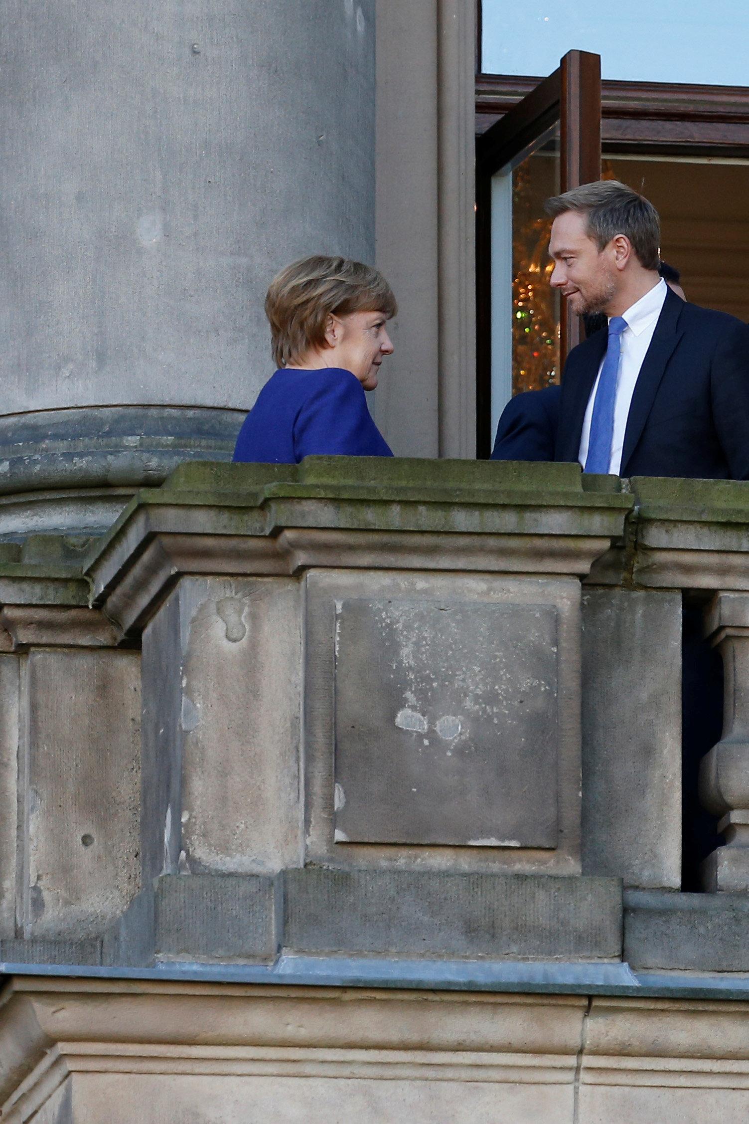 Bei einem möglichen Merkel-Aus: Wieso jetzt wieder über Jamaika gesprochen