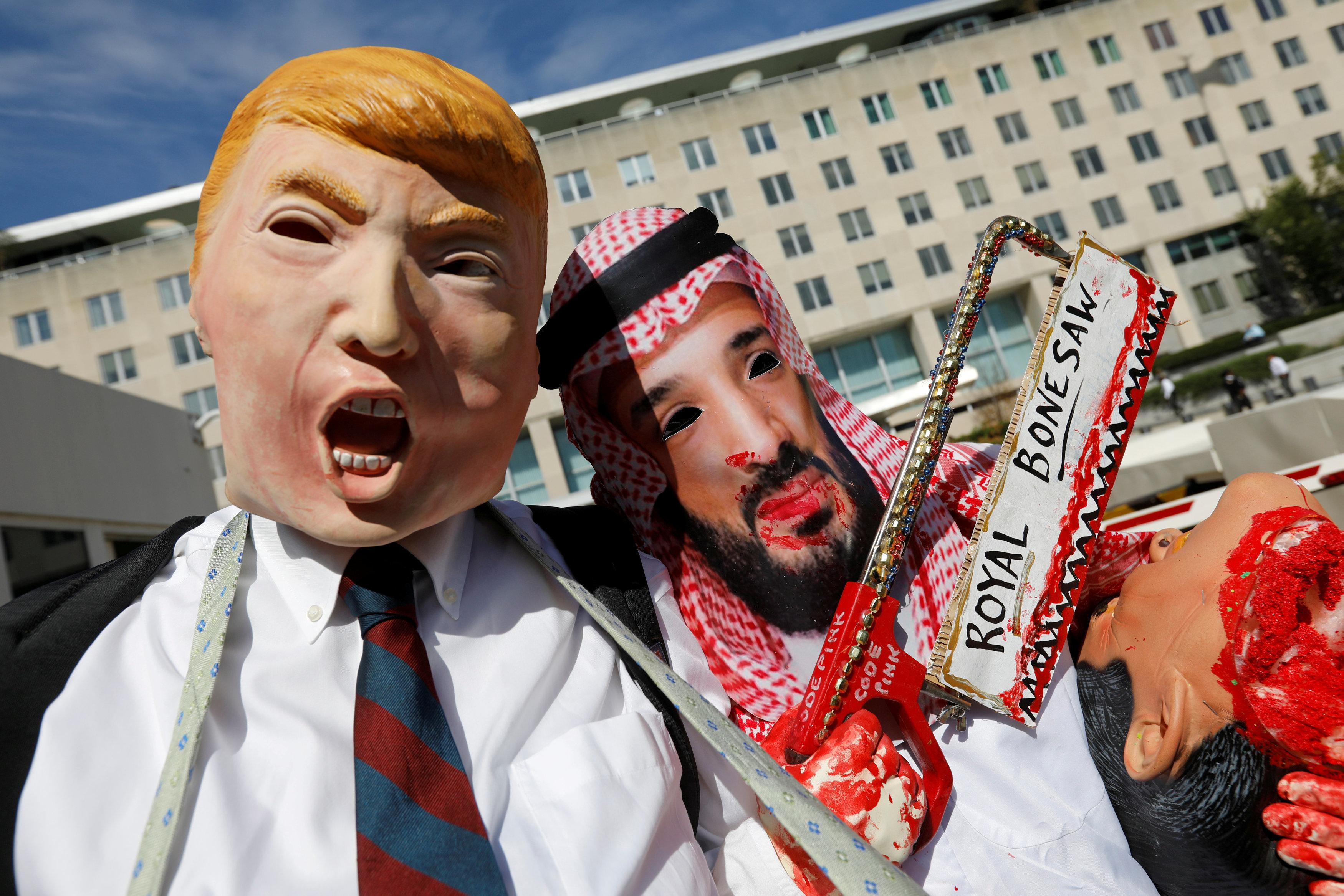 Η Σ.Αραβία αποδίδει τον θάνατο Κασόγκι σε απλή «αψιμαχία» με 18 άτομα και ο Τραμπ βαφτίζει αξιόπιστη την