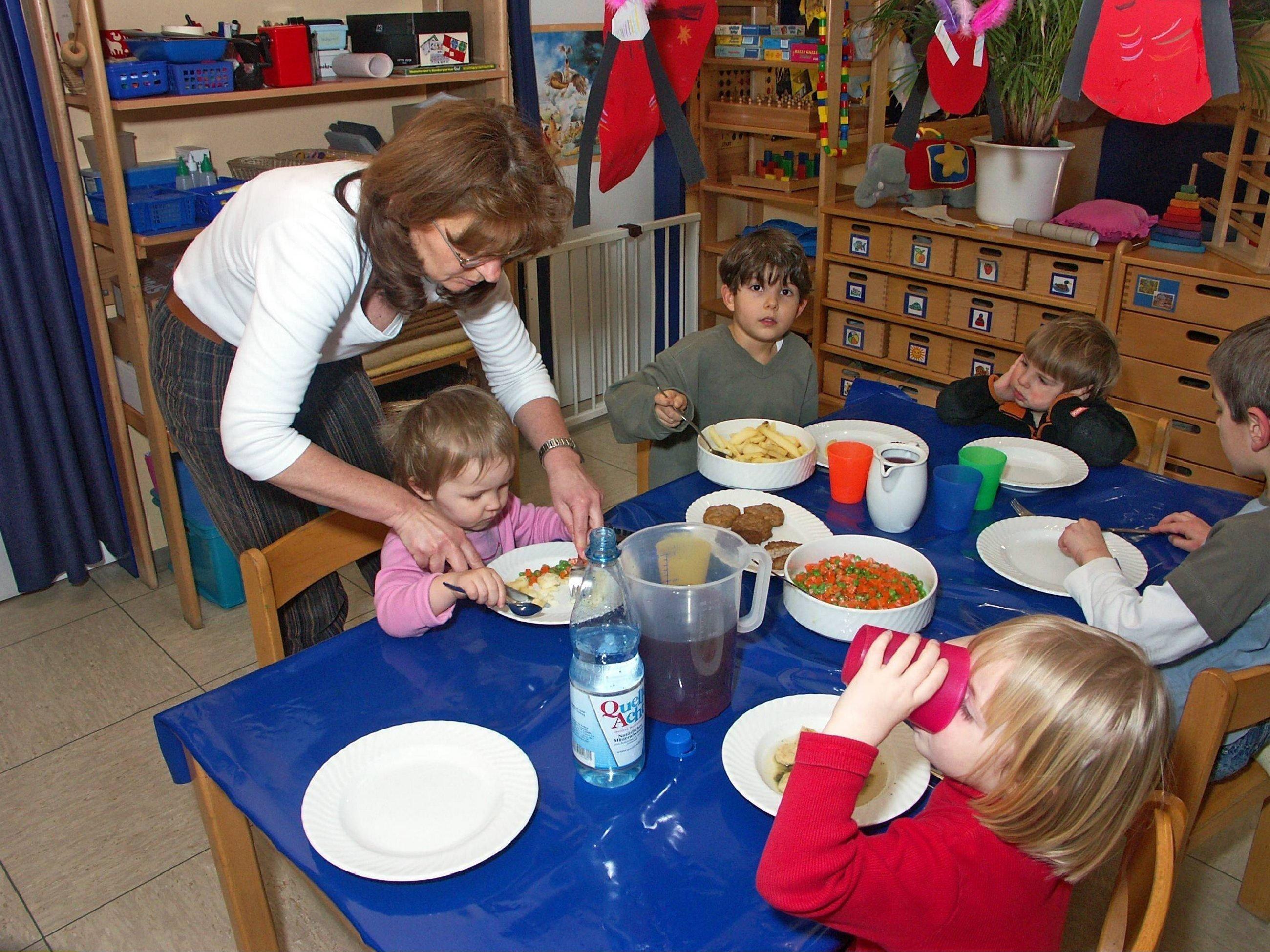 """Kita-Erzieherin: """"Viele Eltern machen beim Essen der Kinder einen großen"""