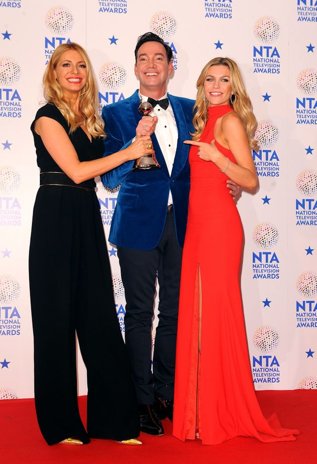 Tess, Craig and 2013 'Strictly' champ Abbey
