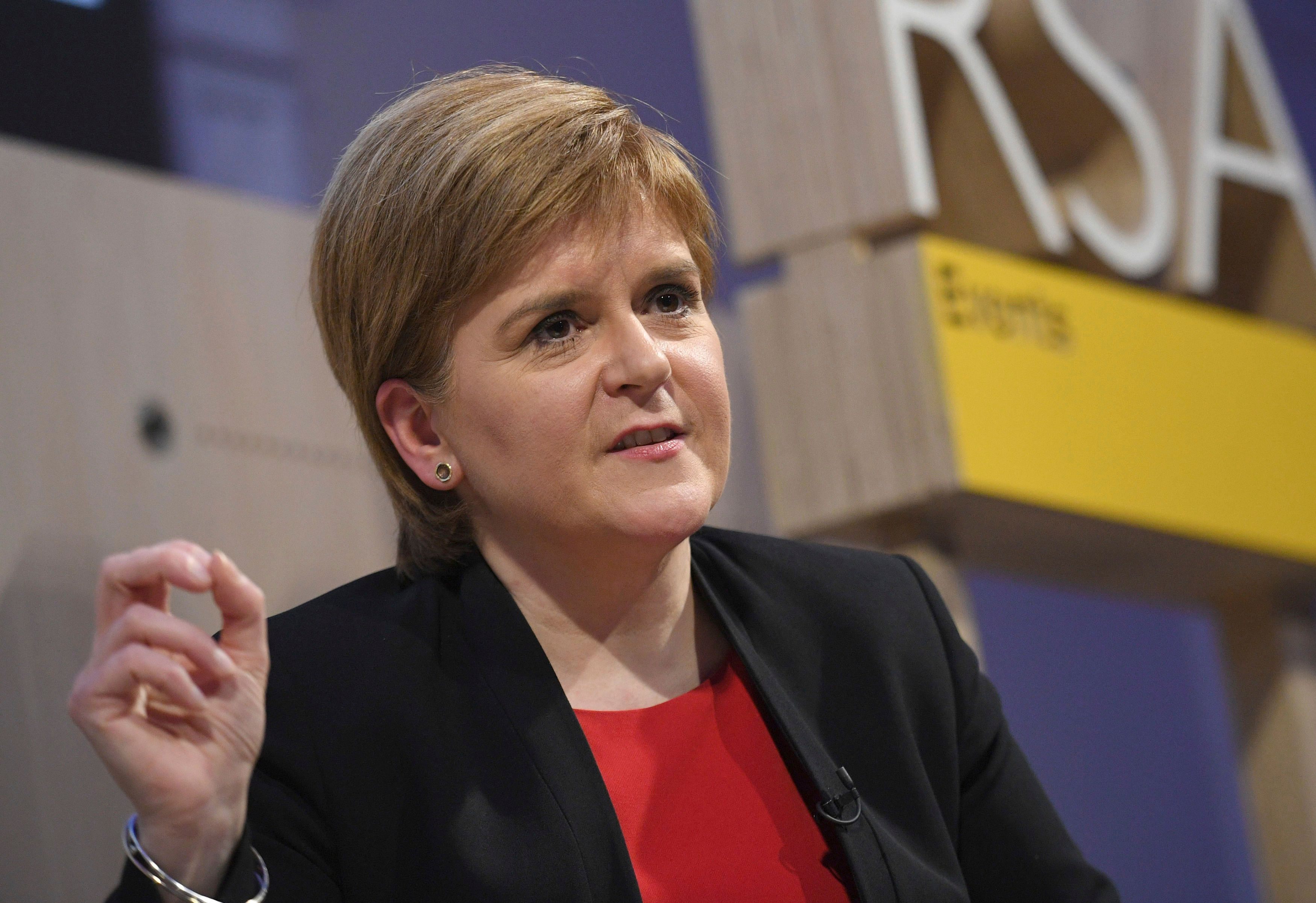 Sturgeon boycotts event in far-right row