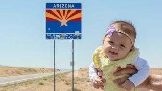 Harper Yeats visits Arizona