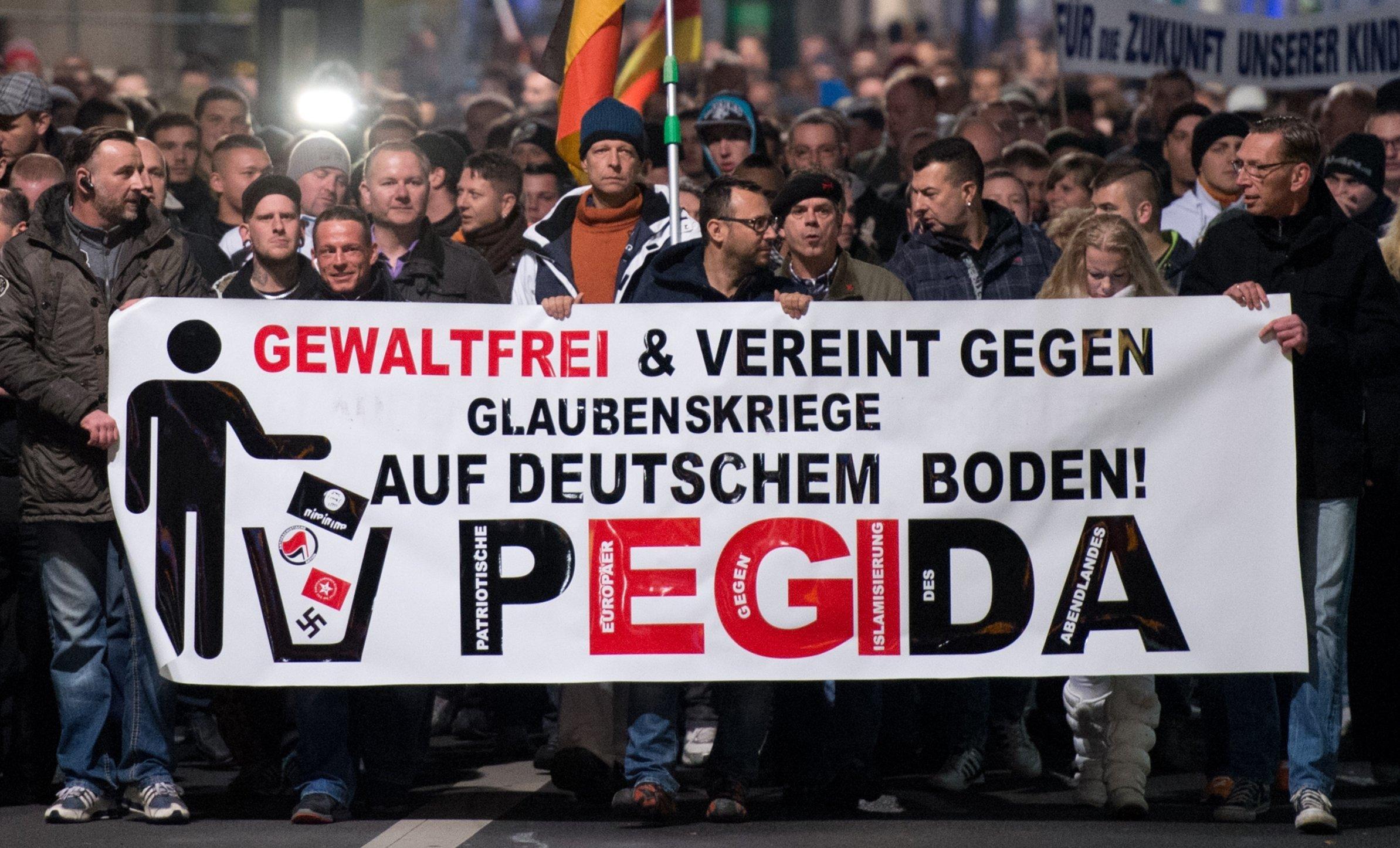 Pegida-Geburtstag: Was ich in vier Jahren vor Ort über die Bewegung gelernt