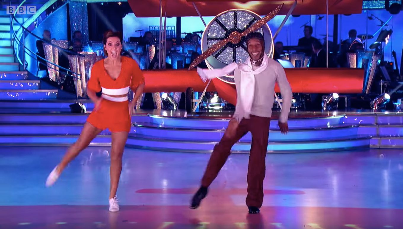 'Strictly' Star Danny John-Jules Bags First 10 Of The Series For Jive