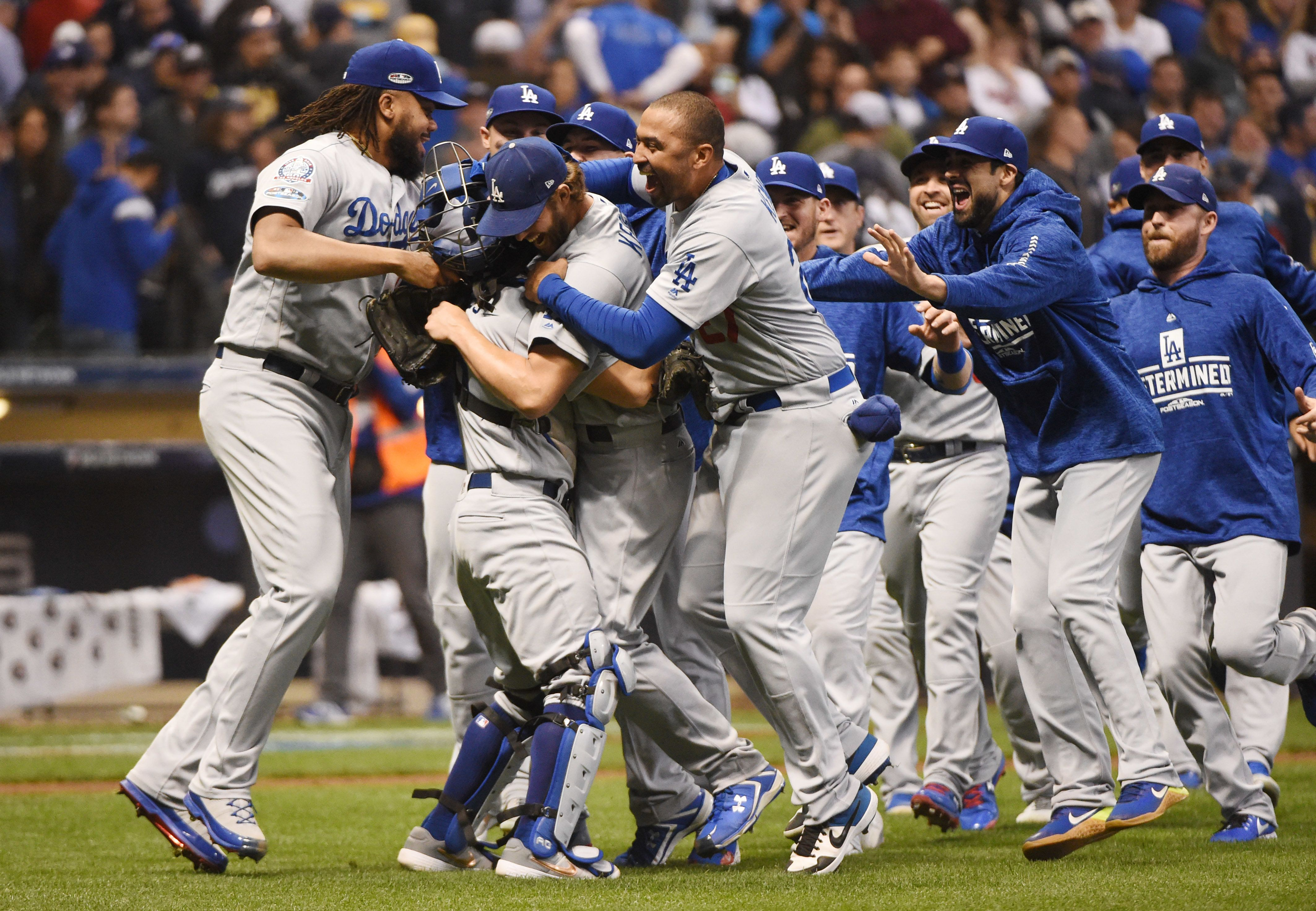 LA Dodgers Defeat Milwaukee Brewers In Game 7 For World Series