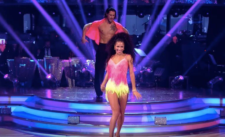 Vick Hope Leaves 'Strictly Come Dancing', As Judges Choose To Save Seann And