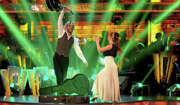 Seann Walsh and Katya
