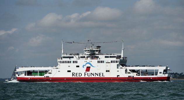 Rescue Operation As Red Funnel Ferry Runs Aground And Crashes Into Yachts On Isle Of