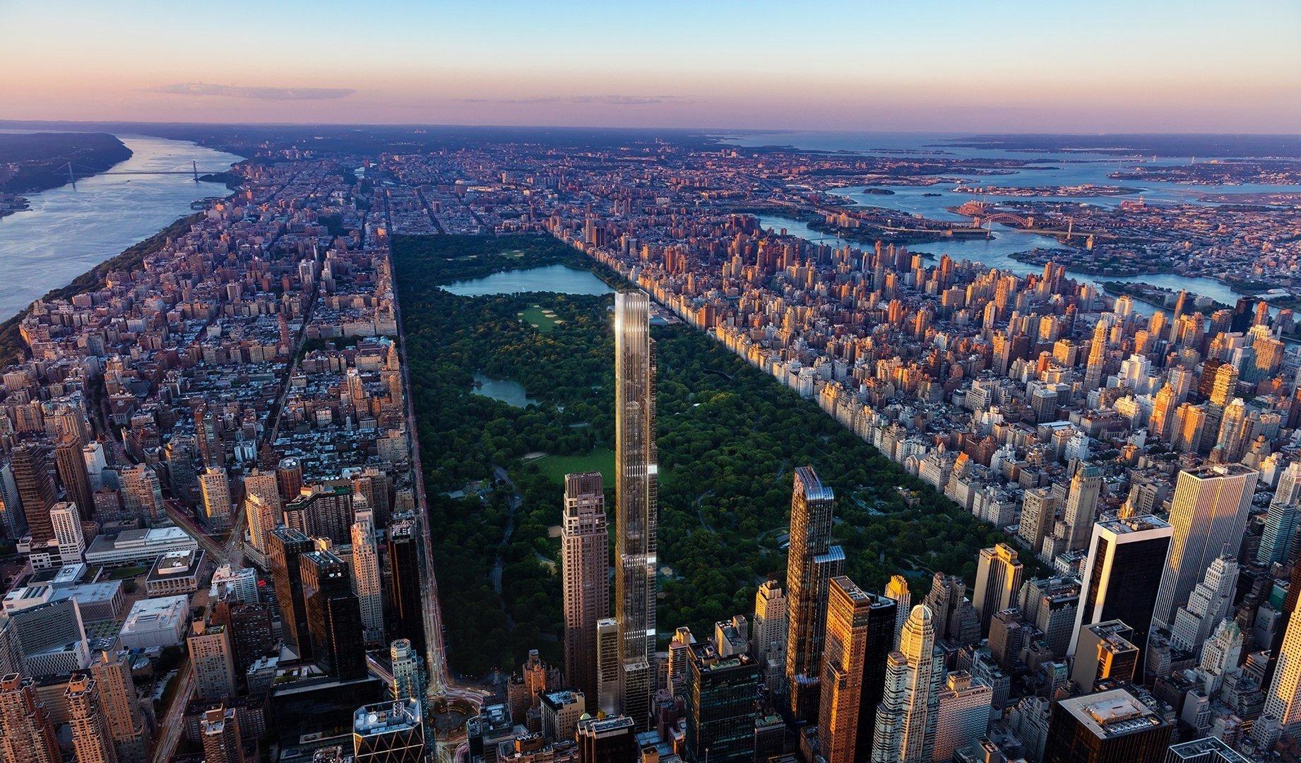 New York: Voici la future plus haute tour résidentielle au