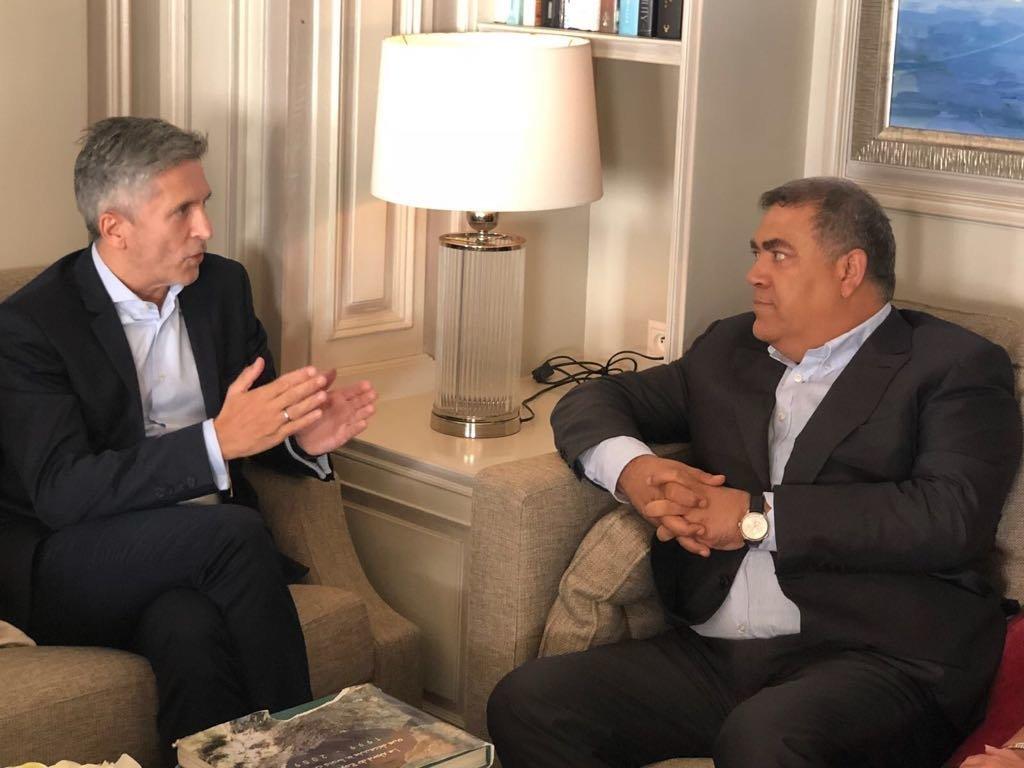 À Madrid, le ministre de l'Intérieur Abdelouafi Laftit et son homologue espagnol s'entretiennent de la question