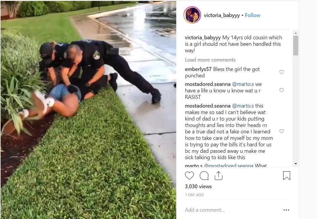 Coral Springs Police Filmed Arresting Teen