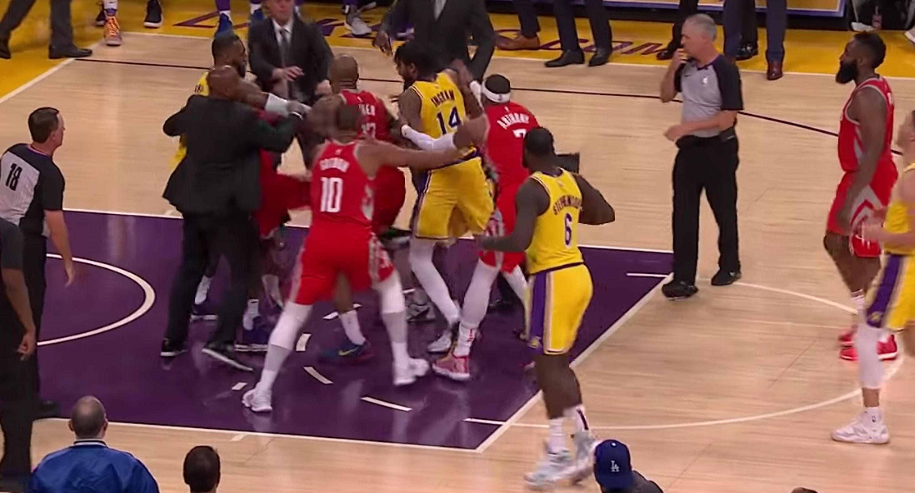 LeBron James' First Lakers Home Game Turns Into A