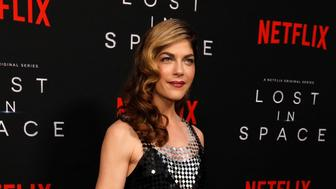 "Actor Selma Blair poses at the premiere for the television series ""Lost in Space"" in Los Angeles, California, U.S., April 9, 2018. REUTERS/Mario Anzuoni"